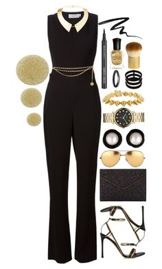 """""""Party"""" by ssm1562 ❤ liked on Polyvore featuring A.L.C., Valentino, Maiyet, Chanel, Rebecca Minkoff, Linda Farrow, Burberry, Marc by Marc Jacobs, Eddie Borgo and Repossi"""