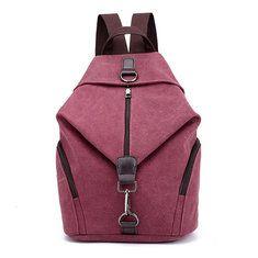 3bc4b4e8817b Vintage Canvas Women Backpacks Fashion Travel Backpack for Teenager Girls  Student School Bag Casual Rucksack Female 2018