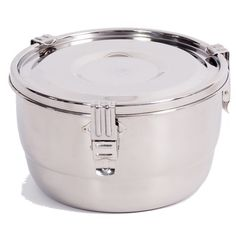 Onyx 3-Clip Airtight Stainless Steel Food Storage Container 10 cm  sc 1 st  Pinterest & We absolutely LOVE these containers and cannot speak highly enough ...