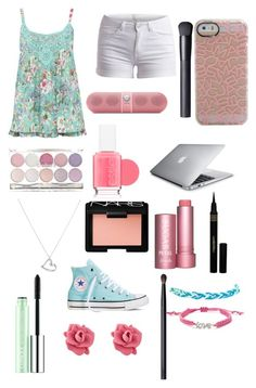 """""""Summer Vacation"""" by arm2003 ❤ liked on Polyvore featuring beauty, M&Co, Pieces, Beats by Dr. Dre, Essie, NARS Cosmetics, claire's, Argento Vivo, Fresh and Napoleon Perdis"""