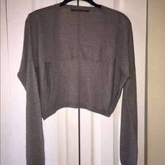 Comptoir des cotonniers shrug Blend of wool silk cashmere size 2 made in France Sweaters Shrugs & Ponchos