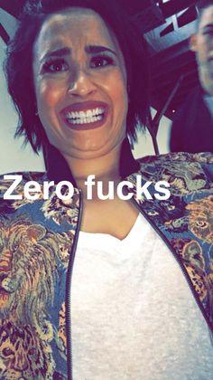 Demi on snapchat
