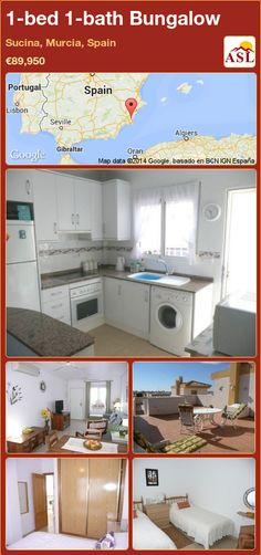 1-bed 1-bath Bungalow in Sucina, Murcia, Spain ►€89,950 #PropertyForSaleInSpain