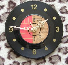 Queen 7 Seas of Rhye Vinyl Desk and Wall Clock by Klicknc on Etsy