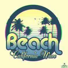 Beach California Wave