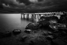 Forgotten pier by Ilias  Varelas on 500px