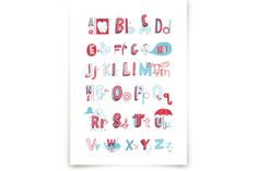 E is for Elephant by ERAY at minted.com