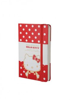 Moleskine - Hello Kitty Limited Edition Notebook - Plain - Pocket (9x14cm) - Hard Cover - Red
