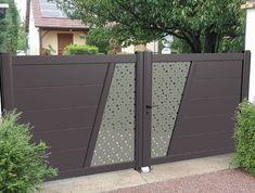 Home Gate Design, Gate Wall Design, Grill Gate Design, House Main Gates Design, Steel Gate Design, Front Gate Design, Door Design Interior, Main Door Design, Compound Gate Design