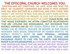 So glad I decided to join the Episcopal Church :)