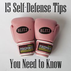 15 Self Defense Tips You Need to Know | GirlsGuideTo - Pretty good guide. I'd like to add a few tips though ;)