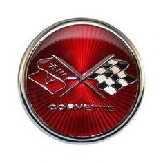 C3 1975-1976 Corvette Emblem Metal Signfeaturing 14 gauge all steel…