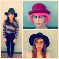 All of us at Queen of Hearts (mannequin included) are super in love with the new #Brixton hats that just came in only hours ago! On Denise we have the Wesley Fedora, on Rachel the Count Hat (which also comes in moss) and on our lovely pink hair friend the Pack hat. There's also tons more that came in but wearing multiple hats at once to get them in the picture seemed a bit ridiculous! #qohpvd #modernlove #qoh #downcity #instastyle #autumn @brixton