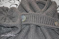 Berretto e sciarpa maxi knitting
