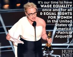 Yes #PatriciaArquette . Yes.  Love you. http://www.theguardian.com/film/2015/feb/22/patricia-arquette-oscars-speech-equal-pay-women …