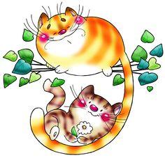 кошка и котенок влюбленные картинки нарисованные: 13 тыс изображений найдено в Яндекс.Картинках