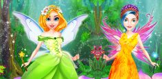 #FairyMakeoverGame  Show your fashion sense in this #FairyGame and give this girls beautiful #MagicMakeover.