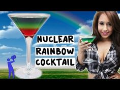 ▶ How to make the Nuclear Rainbow - Tipsy Bartender - YouTube
