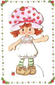 Free printable vintage Strawberry Shortcake *I LOVE the original Strawberry Shortcake*