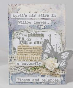 PaperArtsy: 2018 #1 ATC's with EAB Sneak Peek {by Jennie Atkinson}