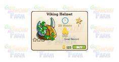 Nuova coltivazione disponibile nel Market: Viking Helmet  Nuova coltivazione disponibile nel Market dal 11/02/2016  Viking Helmet  Livello minimo: 5  Matura in: 20 ore  Costa: 125 Coins  Fa guadagnare 1 XP  Rende: 250 Coins  Mastery: 600 / 600 / 600 (tot. 1.800)