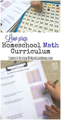 Looking for a homeschool math curriculum that is easy to implement, yet teaches…