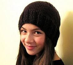 My first published pattern -- soooo simple and can be knit in just a couple of hours.
