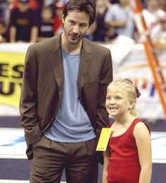 """Keanu Reeves on the most important thing of being a father: """"To be around for your child and not be a stranger. If you plan to be a parent you have to be willing to be committed. Children take priority in your life, or at least they should."""""""