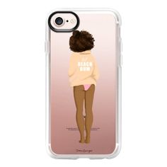 Beach Bum - iPhone 7 Case And Cover (€36) ❤ liked on Polyvore featuring accessories, tech accessories, iphone case, clear iphone case, apple iphone case, iphone cover case and iphone cases