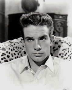 A very young and handsome Warren Beatty ❤ Warren Beatty, Hollywood Actor, Old Hollywood, Virginia, Best Director, Meanwhile In, Most Handsome Men, Oscar, Best Actor