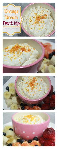 Orange Dream Fruit Dip.  Just 6 ingredients will have your friends begging you for the recipe!