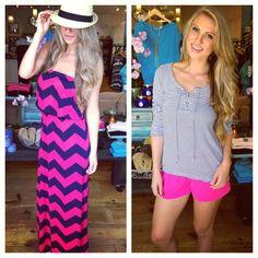 Summer chevron dress $42