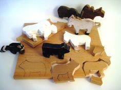 Creating Small Wooden Animals DIY Tutorial  by:-blackcrowcurios