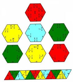 puzzlefraccionesariascolor