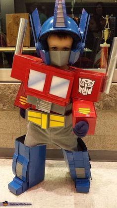 Optimus Prime - Halloween Costume Contest via @costume_works