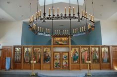 Two New Choros Chandeliers – Orthodox Arts Journal