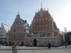 Old Town - Riga by Tanukik, via Flickr