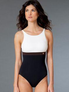 MODERN MIX! #womensswimwear, #onepieceswimsuit, #tankinisswim.org