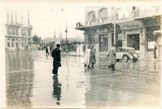 Panepistimiou str, 1930 Greece Pictures, Old Pictures, Old Photos, Vintage Photos, My Athens, Athens Greece, Old Greek, Greek History, Old City
