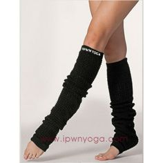 """Leg Warmers - Black              100% Acrylic construction                 Approximately 23 1/2"""" (59.7cm) in total length                 Fitted cuffs to prevent slouching                Solid color         ..."""