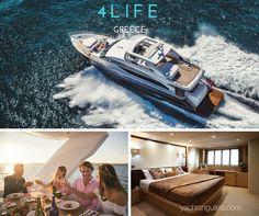 #memories with 4Life Motor Yacht #Greece - sleeps 8 - #athens #mykonos #yachtcharter  2 x seabobs + jet ski :)