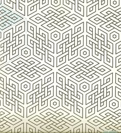 """xsally90-concepts: """" Geometric Patterns & Borders by David Wade. """""""