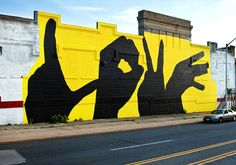 By Michael Owen with the Baltimore Love Project (www.facebook.com/baltimoreloveproject). An easy image to 'LOVE'!
