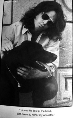 With Stone the dog, Griffith Observatory photo shoot, Los Angeles 1968: Photo by Paul Ferrara (taken from John's The Doors Unhinged, quote by John Densmore)