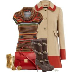 """ColorBlock Coat Contest"" by kginger on Polyvore"