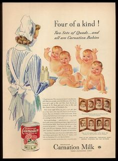 Carnation Milk ad