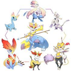 Pokemon Hexafusion