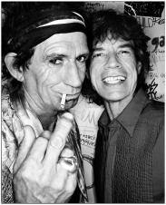 Non potevano sottrarsi alla provocazione i due Stones per eccellenza, Mick e Keith