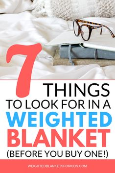 Want to know what to look for in a weighted blanket? From size & weighted fillings to the best weighted blanket fabrics, these 7 essential tips will help you choose the right weighted for your or your child. Check them out now. Weighted Blanket For Anxiety, Weighted Blanket For Kids, Weighted Vest, Blanket Basket, Simple Pictures, Beautiful Pictures, Blanket Storage, Diy Crafts To Do, Autism Activities