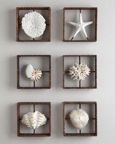 26 Progetti facili da realizzare per creare con le conchiglie decorazioni per la casa
